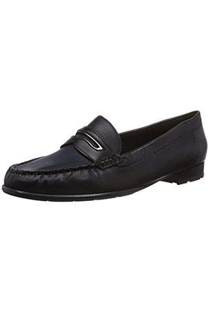 ARA Women's New Jersey Loafer Flats Schwarz (schwarz
