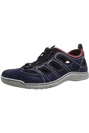 Josef Seibel Mens Milo 03 Low-Top Trainer Blau (949 795 jeans/schwarz) Size: 11