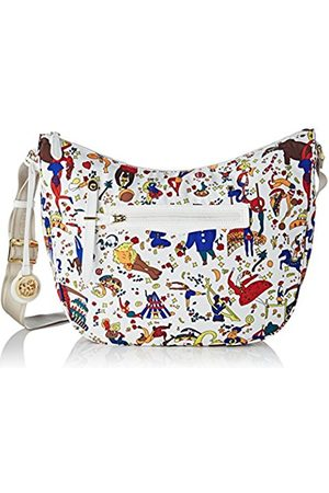PIERO GUIDI Women's 210183088 Cross-Body Bag (BIANCO 98)