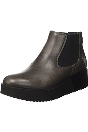 U.S. Polo Assn. Women's Sapphire Leather Chelsea Boots