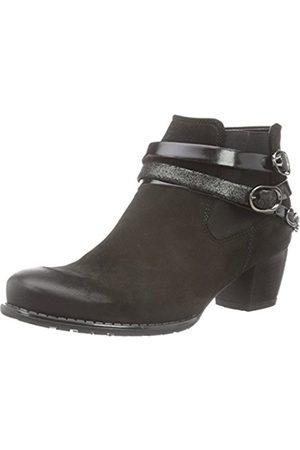 ARA Women's Florenz-St Ankle Boots, -Schwarz (Schwarz,Crow 77)