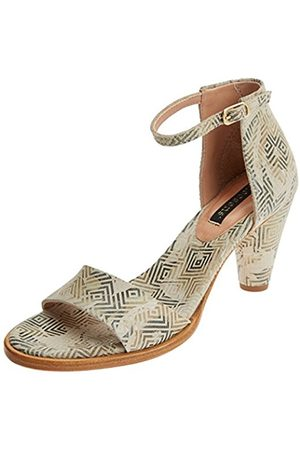 Neosens Women's S990 Fantasy Geo Cream/Montua Open Toe Sandals