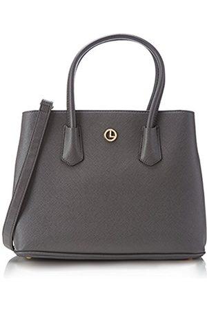 L.Credi Women's Yvonne Handbag Gray Size: Dimensions (W x H x D): 33 x 25 x 14 cm