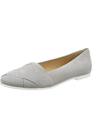 KMB Women's Tocrep Closed Toe Ballet Flats