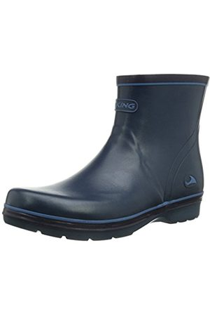 Viking Womens Sienna Cold lined rubber boots half length Blau (5) Size: 3.5 UK