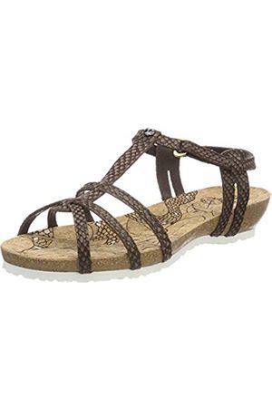 Panama Jack Women's Dori Snake Open Toe Sandals