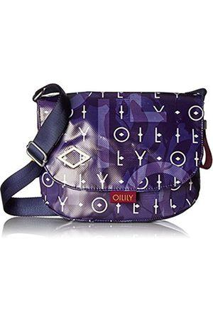 Oilily Lori Shoulderbag Shf, Women's Cross-Body Bag, Blau (Dark )