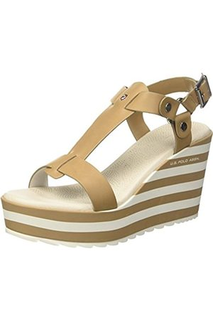 U.S. Polo Assn. Women's Theodora Rock Platform Sandals