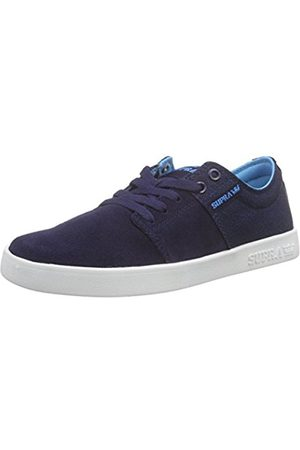 Supra Unisex Adults' Stacks II Low-Top Sneakers (Navy - NVY) 7.5 UK (42 EU)