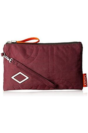 Oilily Spell Cosmeticpouch Mhz, Women's Clutch, Rot (Burgundy)