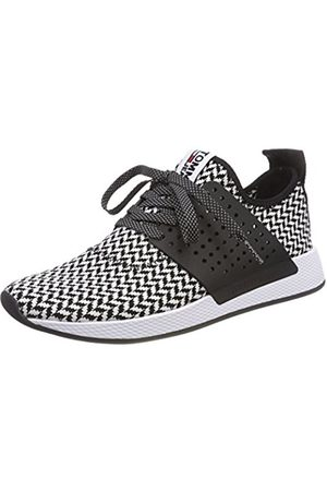 Tommy Hilfiger Men's Check Knit Low-Top Sneakers