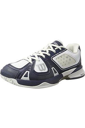 Wilson Unisex Adults' Rush Pro Sl Ac Sneakers, Blau/wei