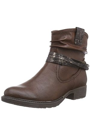 Soft Line 25464, Women's Cold Lined Biker Boots Short Shaft Boots and Bootees, (Braun (Cafe 361))