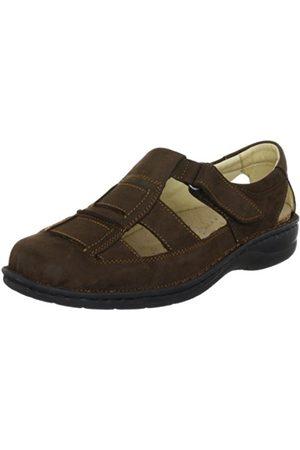 Hans Herrmann Men's Braun Sandals Size: 9