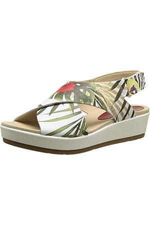 Pikolinos Women's Mykonos W1G Sandals Multicolour Size: 7 UK