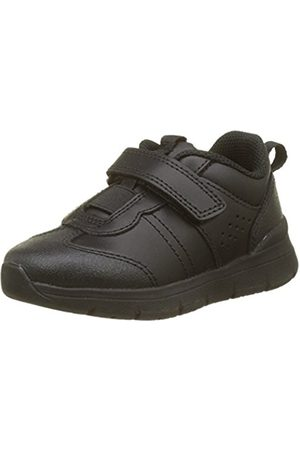 Start Rite Unisex Kids Sprint Multisport Indoor Shoes, (Black_7)