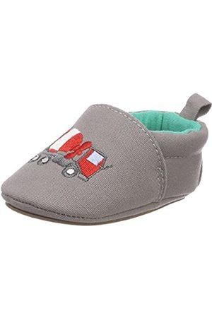 Sterntaler Baby Boys' Baby-krabbelschuh Slippers Grey Size: 12-18 Months UK