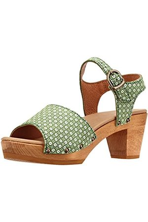 Sanita Women's Sybil Square Ankle Strap Sandals