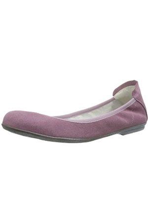 Däumling Girls' Hanna Ballet Flats Violett (Capretto violetto) Size: 39