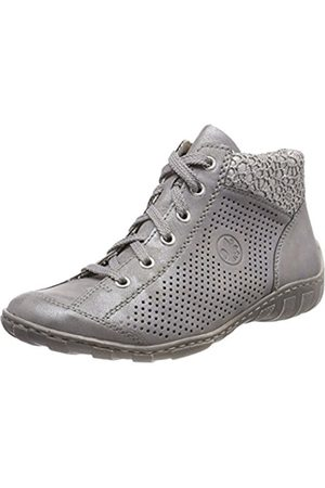 Womens L8510 Trainers, Grey, 3.5 UK Rieker