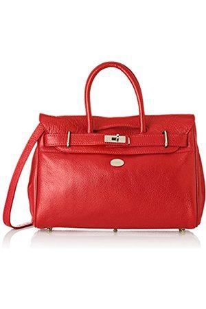 Mac Douglas Women's PYLA BUNI Top-Handle Bag (Rouge Fraise 24FR)