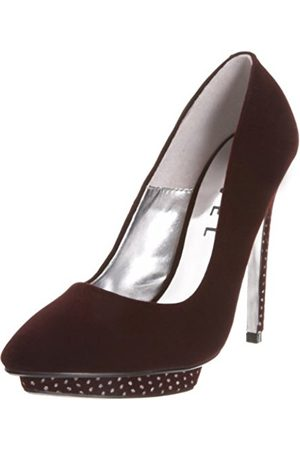 Ravel Women's Francis Wine Platforms Heel RLS179 5 UK