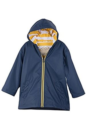 Hatley Boy's Splash Rain Jacket, (Navy/ )