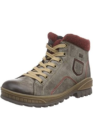 Rieker Kinder K3677, Girls' Ankle Boots, Gray - Grau (cigar/bordeaux/wine/25)