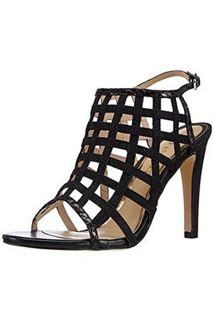 CAFèNOIR Womens Sandal Ankle Strap Sandals Schwarz (010 NERO) Size: 4