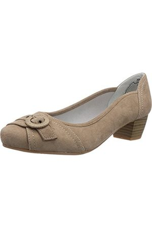Marc Womens 1.484.06-21/260-Athena Closed pumps Gray Grau (taupe 260) Size: 6