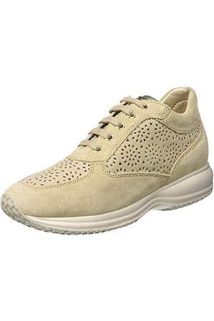 Womens D Happy C Hi-Top Sneakers, Navy Blue, 4 Geox