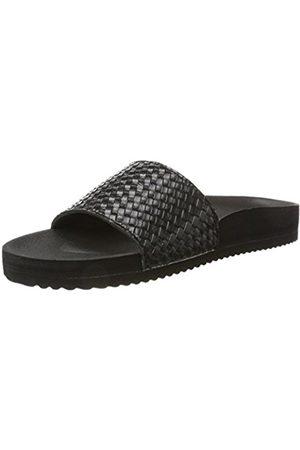 flip*flop Women's Pool*Braid Metallic Heels Sandals Size: 5 UK