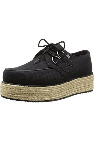 TUK Pointed Stacked & Wrapped Creepers (A8863), Unisex Adults' Hi-Top Sneakers