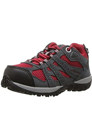 Columbia Children's Trail Running Shoes, Waterproof, Childrens RougeMOND, (Mountain Rouge/ )