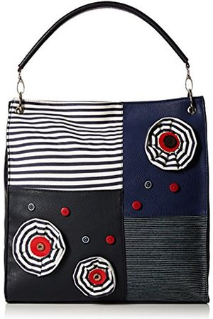 Joe Browns Women's Nicely Nautical Bag Canvas and Beach Tote Bag (Navy Multi)