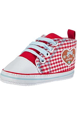 Playshoes GmbH Canvas Country House Love, Unisex Kids' Hi-Top Sneakers