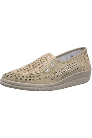 Comfortabel Womens 9416 Slipper (Taupe) Size: 6.5