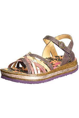 Think! Zega, Women's Wedge Heels Sandals, Purple (Malva/Kombi 31)