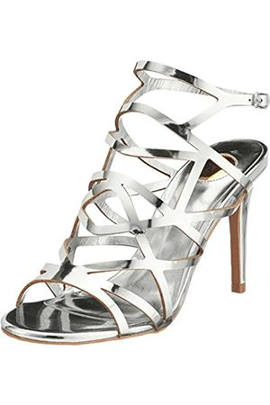 Womens 317-2933 Patent Pu Ankle Strap Sandals Buffalo