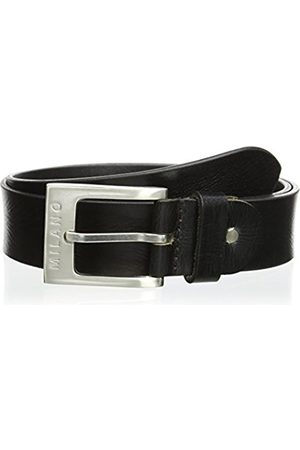"Milano Men's/Gent's Leather Belt 3.5cm wide (L (36""-40""))"