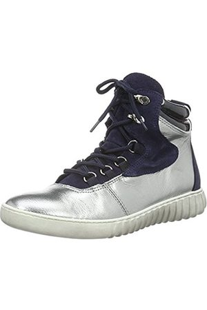 Marc Womens 69605 Hi-Top Trainers Silver Size: 5 UK