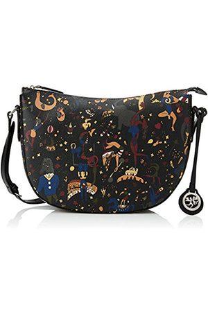PIERO GUIDI Women's 210044088 Shoulder Bag (Nero Profondo P4)