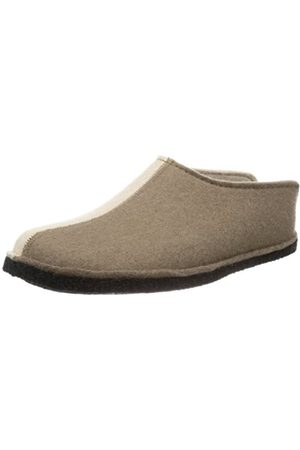 Haflinger Unisex - Adult Flai-Smily-Duo Slippers (taupe 280) Size: 44