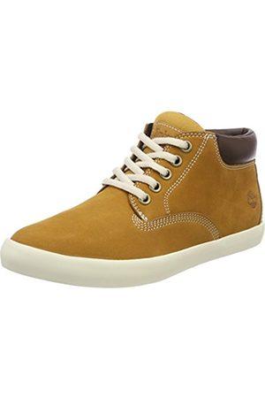 Timberland Women's Dausette Low Chukka High-top Sneakers, (Wheat Nubuck)