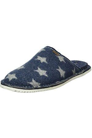 Living Kitzbühel Unisex Adults' Pantoffel Mit Dünnem Sternwalk Low-Top Slippers, -Blau (Jeans 560)