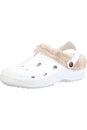 Chung Shi Unisex Adults' DUX Winter Clogs White Size: 2-3