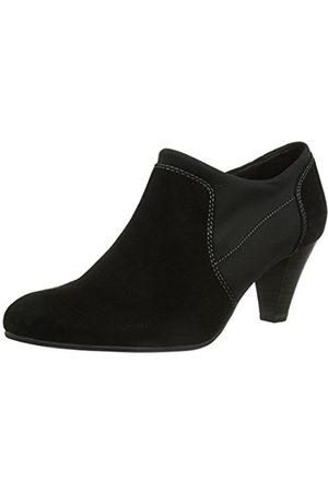 Caprice Elisabeth 2K 2, Womens Loafer Flats (Noir (4 Suede))