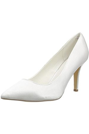 Menbur Women's Agueda Closed Pumps Ivory Size: 7