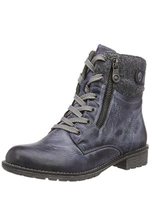 Rieker Girls' K3490 Cold Lined Combat Boots Short Length Size: 3.5