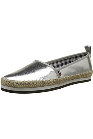Tommy Hilfiger Women's Sporty Metallic Slip on Espadrilles
